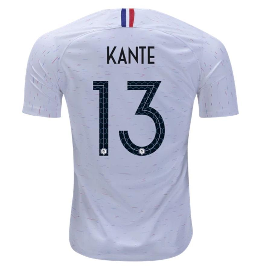 watch e2301 3e482 Men #13 Kante Jersey White France National 2018 FIFA World Cup