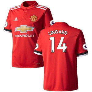 reputable site 2f60d 52c57 Men 14 Jesse Lingard Jersey Soccer Manchester United Jersey 2018