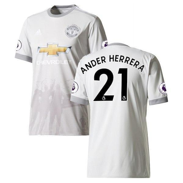 factory authentic 9d323 3cbce Men 21 Ander Herrera Jersey Soccer Manchester United Jersey