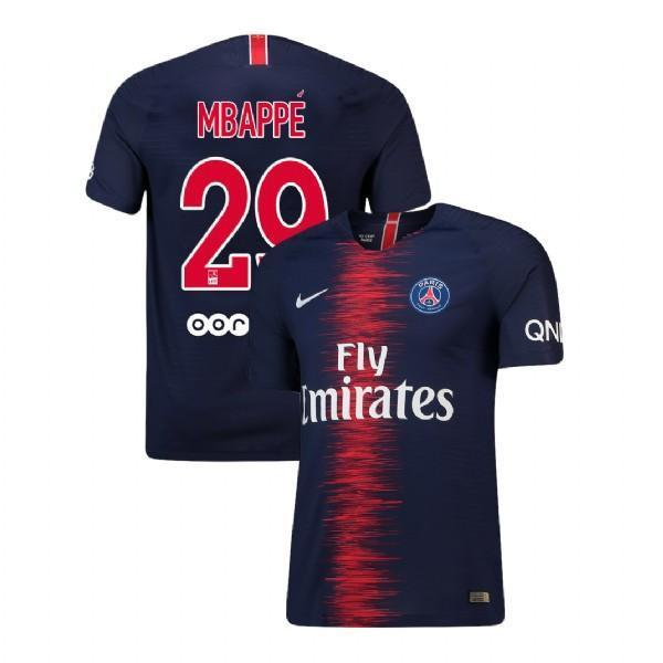 best website 4aa57 0e07f Men 29 Kylian Mbappe Jersey Home Soccer Paris Saint Germain Jersey 2019
