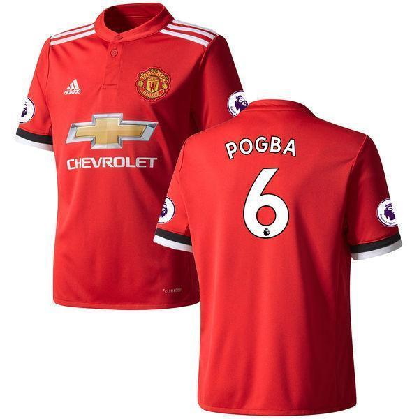 best sneakers fe80f af368 Men 6 Paul Pogba Jersey Soccer Manchester United Jersey 2018