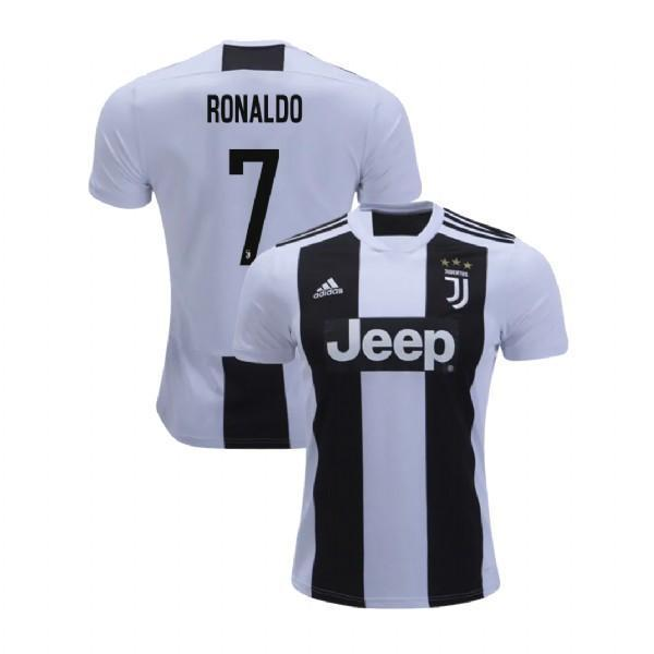 half off eb2ee b175f Men 7 Cristiano Ronaldo Jersey Home Soccer Juventus Jersey 2019 Serie A