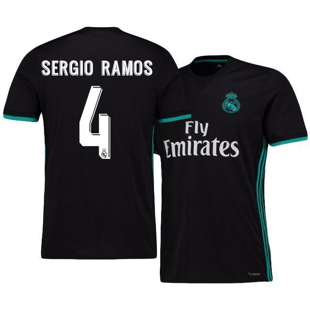 reputable site 471bc 2d8a0 Men 4 Sergio Ramos Jersey Soccer Real Madrid Jersey 2018 LaLiga