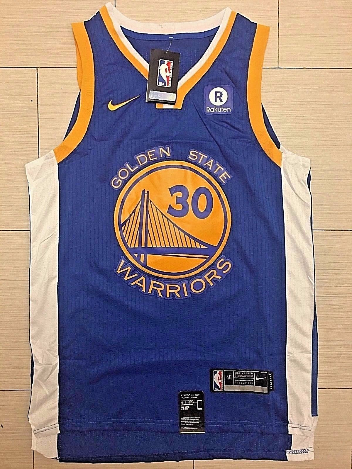 b66f3748c Men 30 Stephen Curry Jersey Blue Golden State Warriors Jersey Player ...