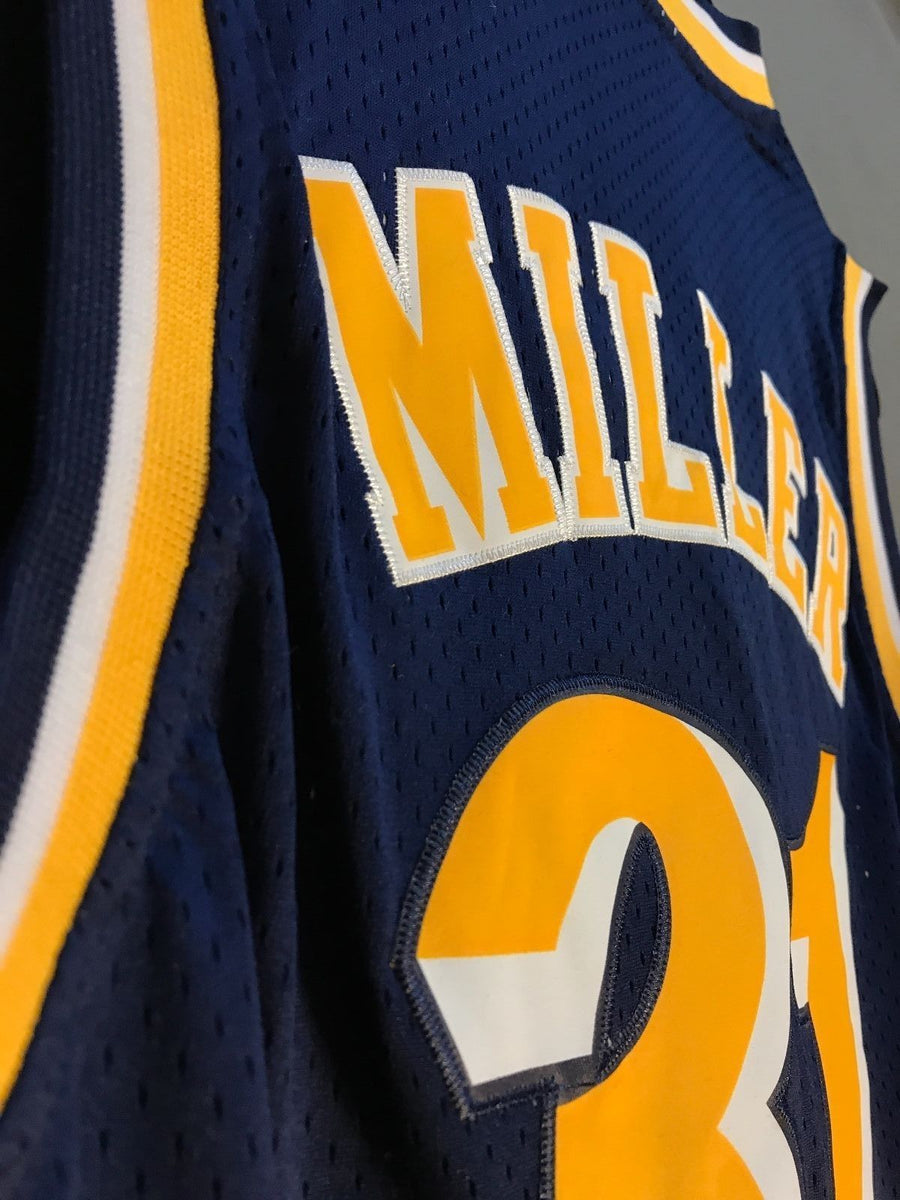 outlet store 21270 e137b Men 31 Reggie Miller Jersey Indiana Pacers Jersey Throwback Swingman