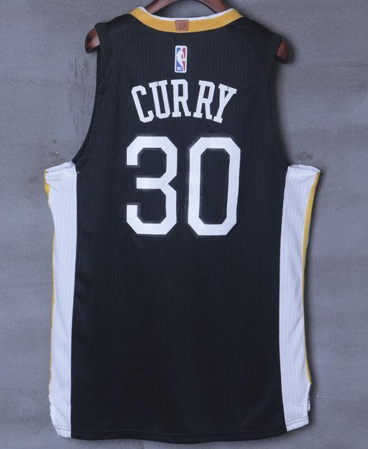 uk availability 6b032 5f631 Men 30 Stephen Curry Jersey Black Golden State Warriors Jersey Player