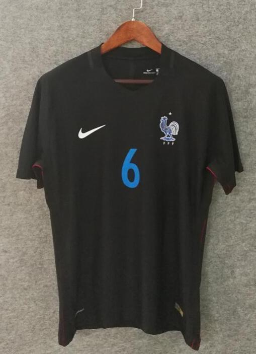 new style ccfc4 9471e 2018 Men France Jersey Away #6 Pogba Jersey World Cup Jersey Player