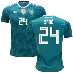 pretty nice ccd05 84f3a Men #24 Leroy Sane Jersey Germany National 2018 FIFA World Cup Player