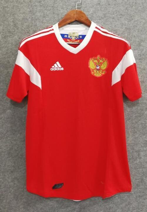 brand new accf9 f485a 2018 Men Russia Jersey Home Stadium Soccer Jersey World Cup Jersey Player