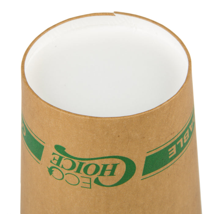 Recipiente de Papel Kraft Compostable