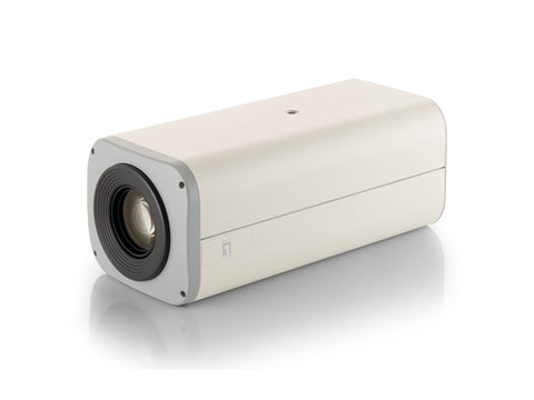 FCS-1150 Zoom Network camera, 3MP, 802.3af PoE, 12x Optical Zoom, WDR