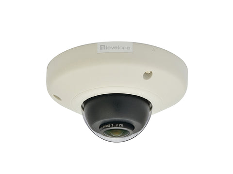 FCS-3093 H.264 5MP PANO VANDAL POE WDR IP DOME CAM