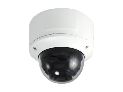 FCS-3098 Fixed Dome IP Network Camera, 8MP, H.265/264, 4.3X Optical Zoom, 802.3af PoE