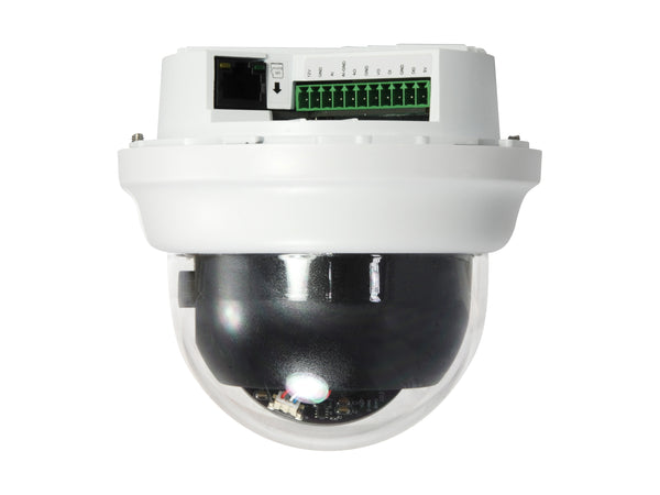 FCS-3303 Fixed Dome IP Network Camera, H.265/264, 3MP, 802.3af PoE, 4.3X Optical Zoom