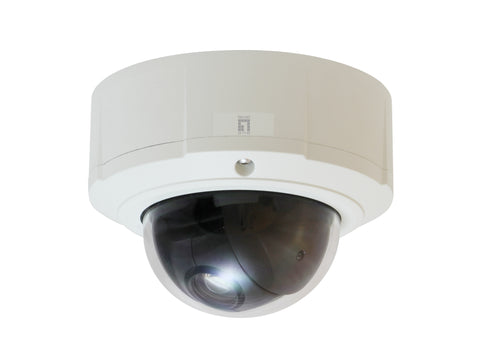 FCS-4044 PTZ Dome Outdoor Network Camera, 5MP, 802.3af PoE, 10x Optical Zoom, WDR