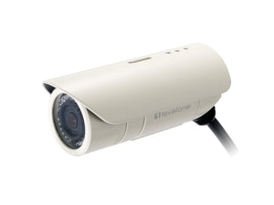 FCS-5041 Fixed IP Network Camera, 802.3af PoE, Megapixel, Indoor/Outdoor