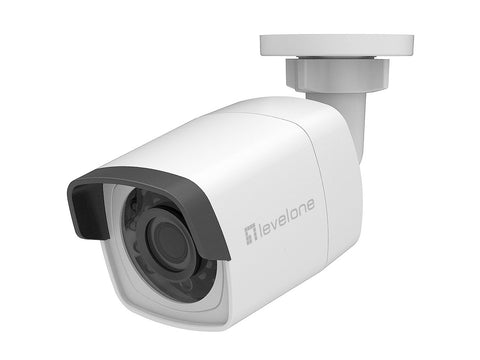 FCS-5067 Fixed Network Camera, 4MP, Outdoor, IR LEDs, WDR, 802.3af PoE