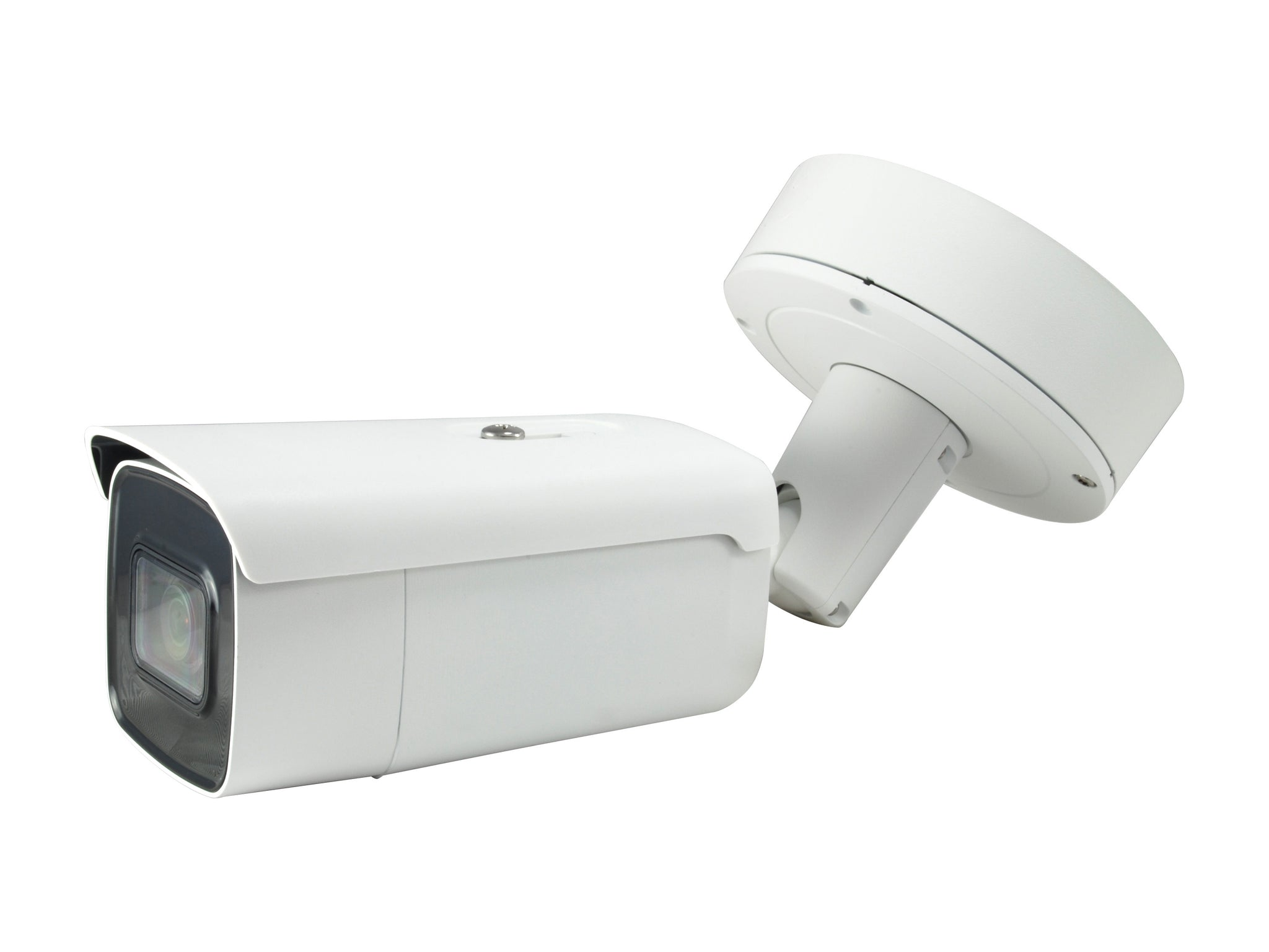 FCS-5095 Fixed IP, 8MP, H.265/264, 802.3af PoE, 4.3X Optical Zoom, Indoor/Outdoor,