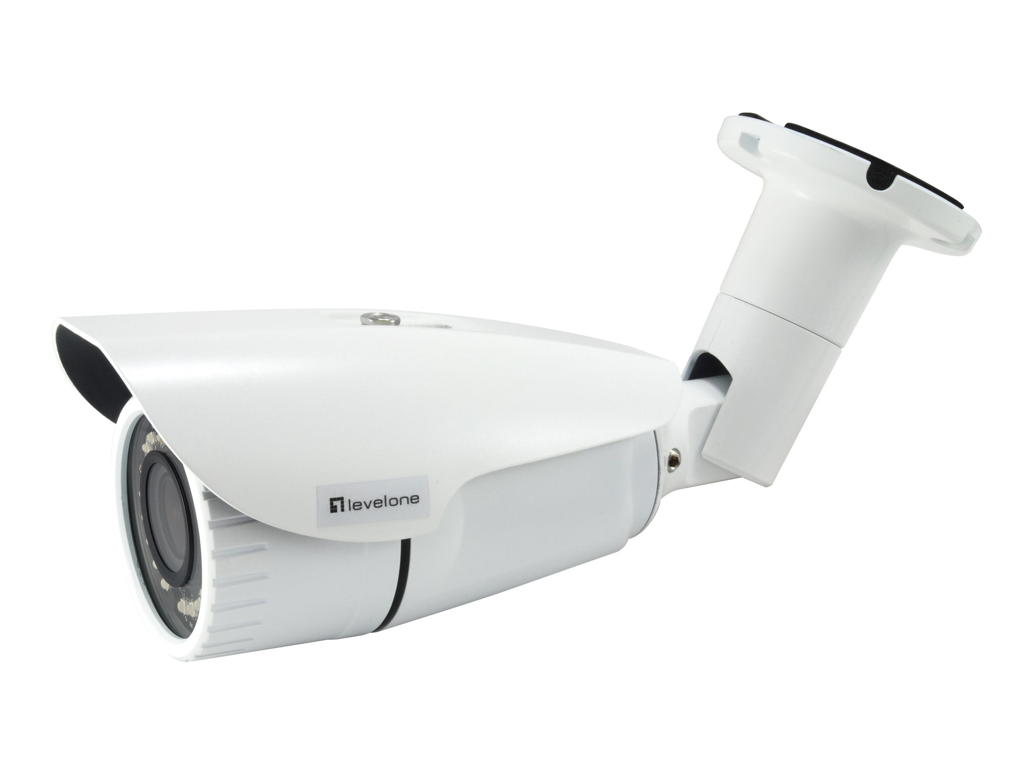 FCS-5102 Fixed IP, 3MP, H.265/264, 4.3X Optical Zoom, 802.3af PoE, IR LEDs, Indoor/Outdoor, Vandalproof, two-way audio
