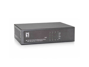 FEP-0812 8-Port Fast Ethernet PoE Switch, 802.3at/af PoE, 4 PoE Outputs