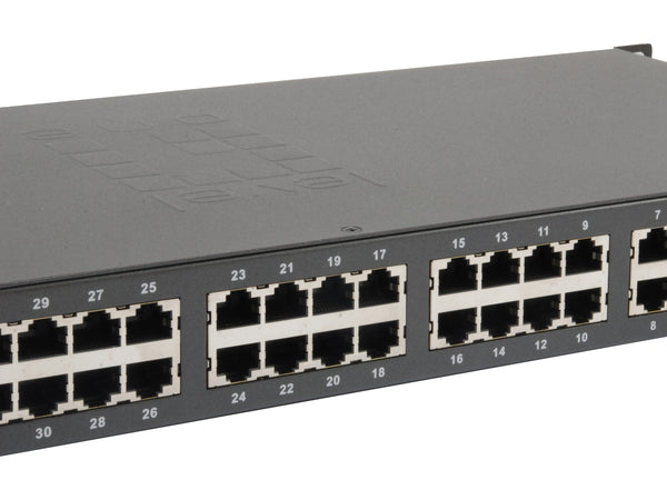 FGP-3400 34-Port Fast Ethernet PoE Switch, 32 PoE Outputs, 2 x Gigabit RJ45