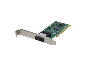FNC-0104FX Fast Ethernet Fiber PCI Network Card, 1 x SC Multi-Mode Fiber