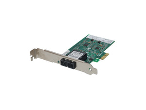 FNC-0115 Fast Ethernet Fiber PCIe Network Card, Multi-Mode, SC
