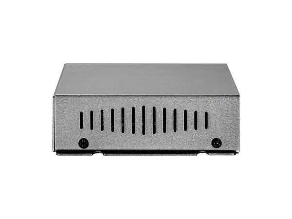 FSW-0503 4PORT POE/1PORT 10/100 WALL SWITCH W/PSU