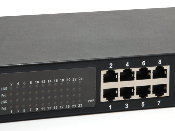 GEP-2421 24-Port Gigabit PoE Switch, 802.3af/at PoE