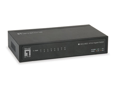 GEU-0822 8-PORT GIGABIT ETHERNET SWITCH
