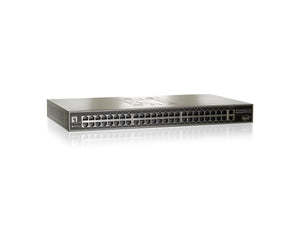 GSW-5150 51-Port Fast Ethernet Switch, 2 x Gigabit RJ45, 1 x Gigabit SFP