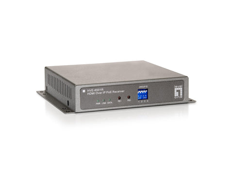 HVE-6501R HDMI OVER IP POE RECEIVER
