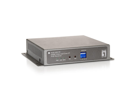 HVE-6601R HDMI VIDEO WALL OVER IP POE RECEIVER