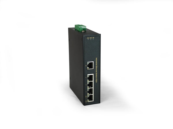 IFP-0501 5-Port, 4 PoE Outputs, 802.3at PoE+, 126W, -40°C to 75°C