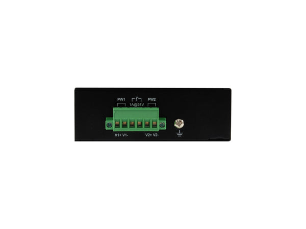 IFP-0801 8-Port Fast Ethernet PoE Industrial Switch, 4 PoE Outputs, 802.3at/af PoE, 126W