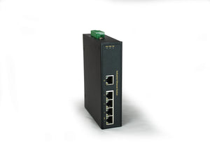 IFS-0501 5-Port Fast Ethernet Industrial Switch, -40°C to 75°C