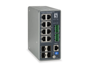 IGP-1271 12-Port L3 Lite Managed Gigabit PoE Industrial Switch