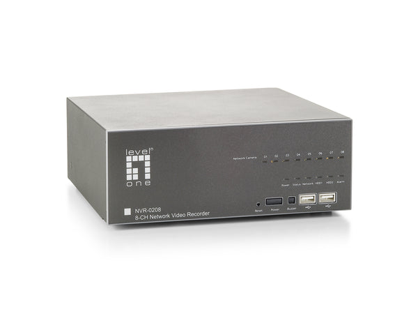NVR-0208 8-CH Network Video Recorder (OPEN BOX)