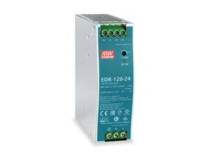POW-2441 Industrial Power Supply, 120W, 24VDC, DIN-Rail