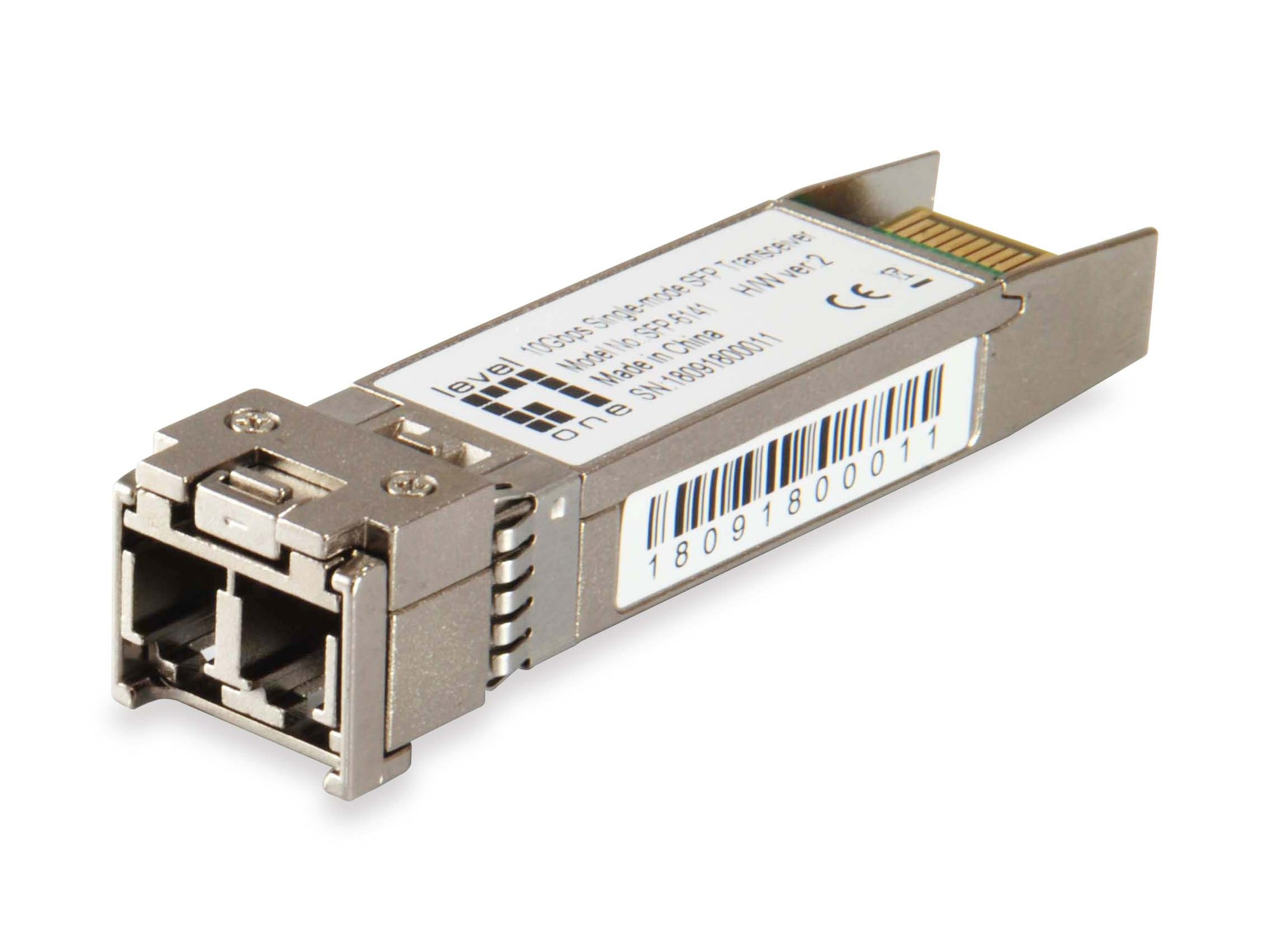 SFP-6141 10Gbps Single-mode SFP Transceiver, 40km, 1550nm
