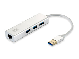 USB-0503 Gigabit USB Network Adapter, USB Hub