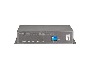 VDS-0120 Ethernet over VDSL2 Converter (PSE)