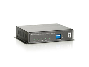 VDS-0202 ETHERNET OVER VDSL2 CONVERTER (BNC)