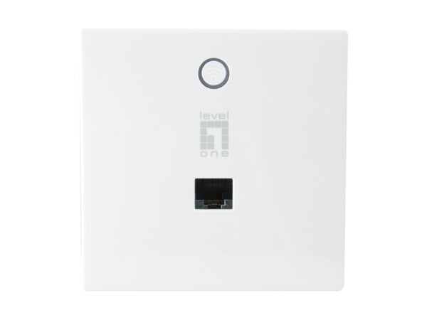 WAP-8221 AC750 Dual Band PoE Wireless Access Point, In-Wall Mount, Controller Managed