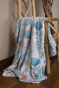 Coastal Reef Throw Blanket