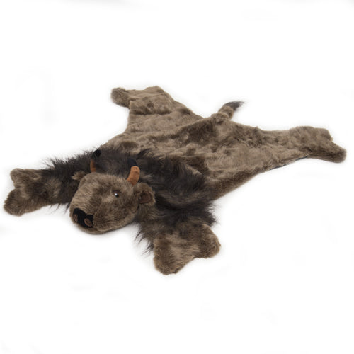 Buffalo plush rug, large