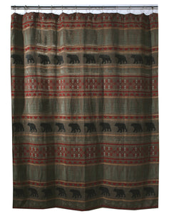 Bear Country Shower Curtain
