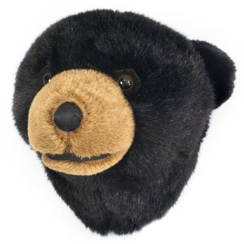 Black Bear Mini Trophy Head