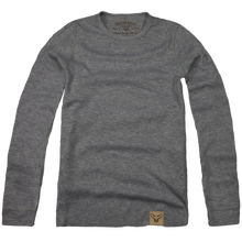 Load image into Gallery viewer, Grey Layering Henley