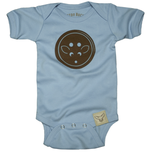 Boys Button Onesie